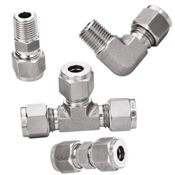 Inconel 718 Compression Tube Fittings