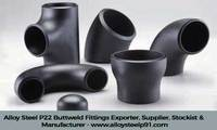 Alloy Steel P22 buttweld fittings